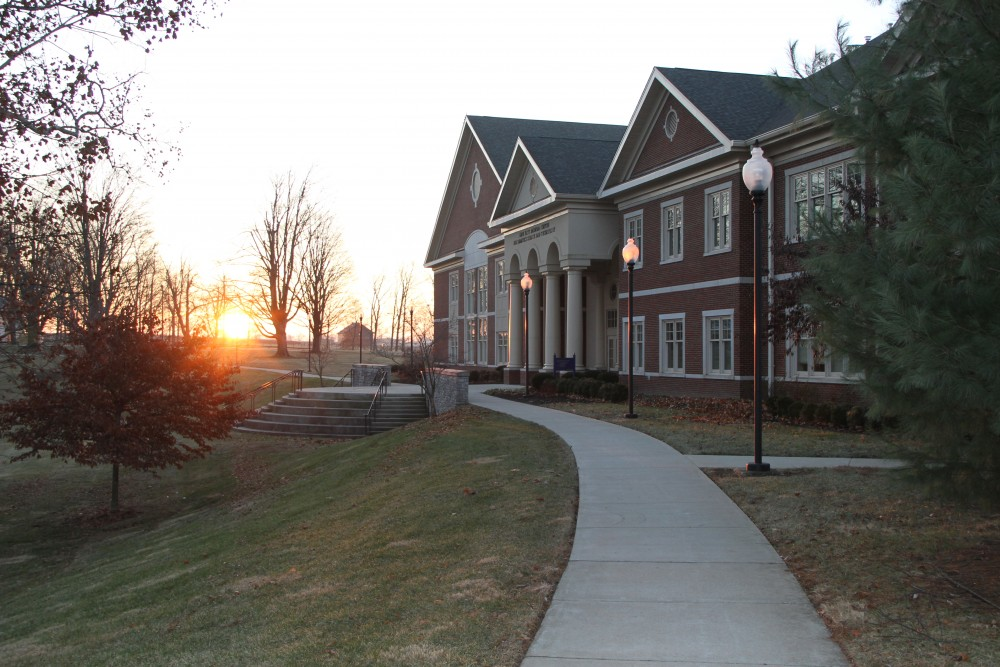 sunrise on midway university campus
