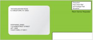 BankMobile Green Envelope