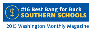Midway University Ranked #16 by Washington Monthly magazine - Best Bang for Buck (Southern Schools)
