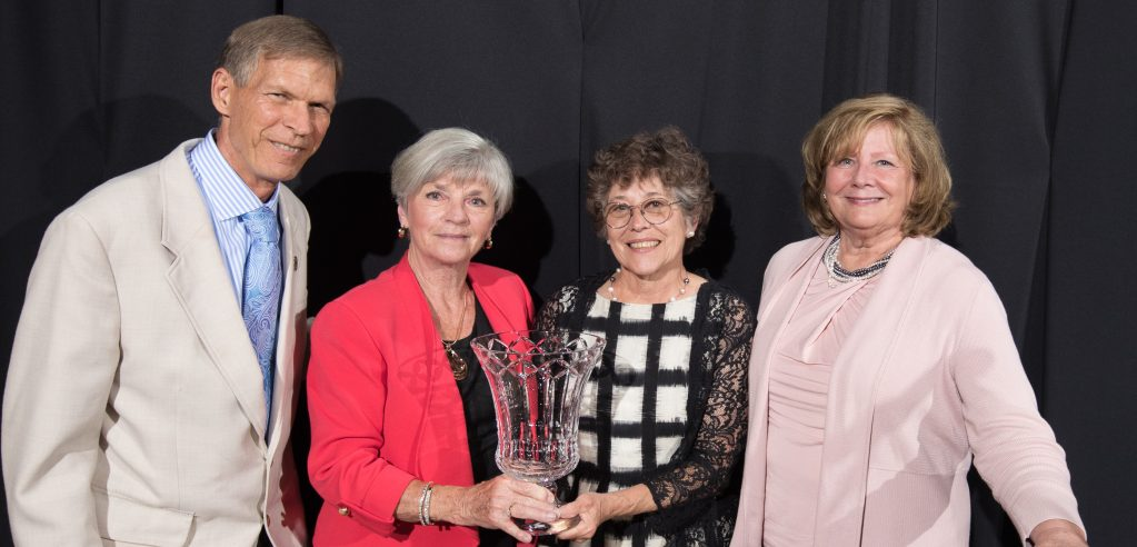 Members of Parrish-Roach Family Accept 2017 Legacy Award