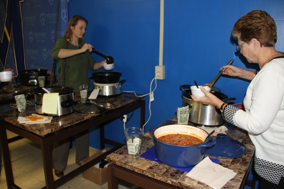 Sport Management Club's Annual Faculty/Staff Chili Cookoff Event