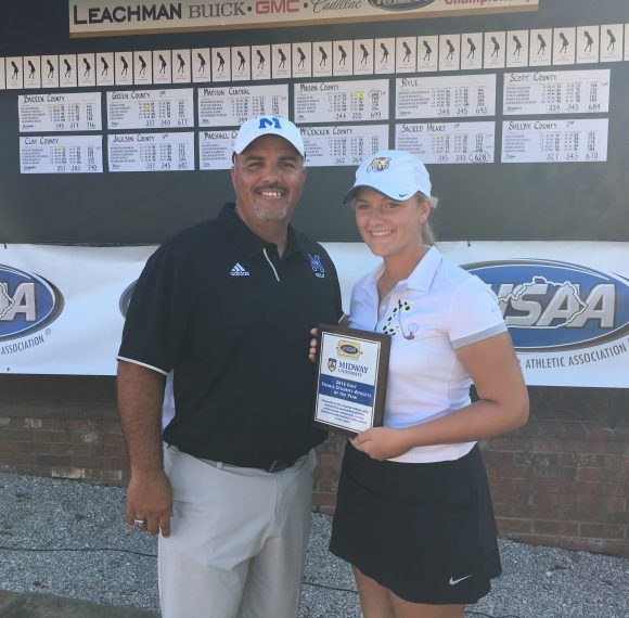 Clay County Golfer Wins Midway University/KHSAA Female Student-Athlete of the Year Award