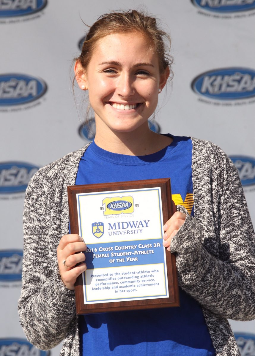 Karas, Kessinger Win Midway University/KHSAA Cross Country Female Student-Athlete of the Year Awards
