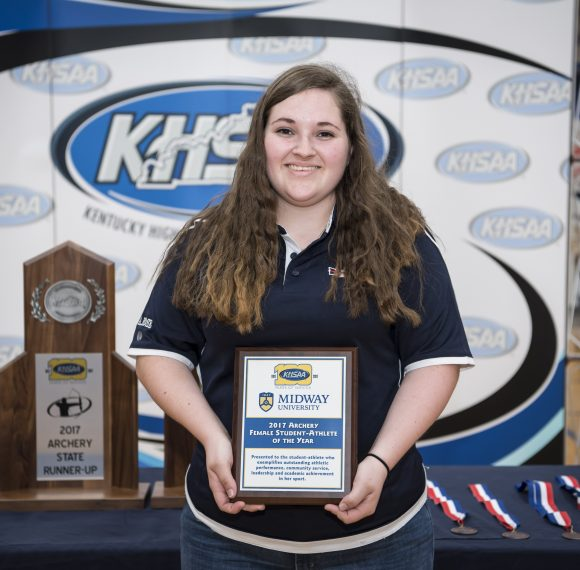 Rose Wins Midway University/KHSAA Archery Female Student-Athlete of the Year Award