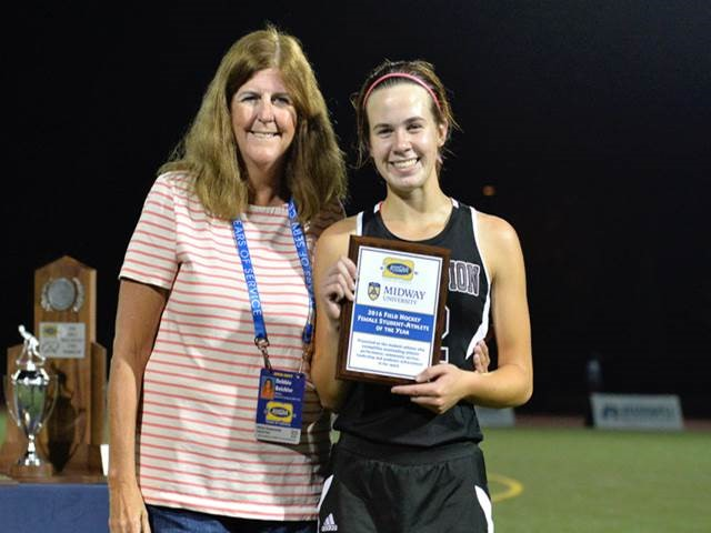 Assumption Player Wins Midway University/KHSAA Field Hockey Female Student-Athlete of the Year Award