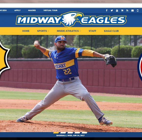 Midway Athletics Launches New Website