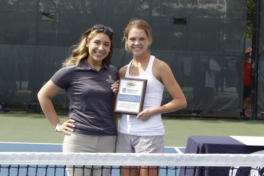 Abby Birk Wins Midway University/KHSAA Female Tennis Student-Athlete of the Year Award