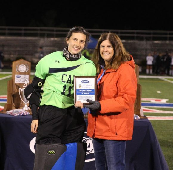 Samantha Minrath Wins Midway University/KHSAA Female Student-Athlete of the Year Award in Field Hockey
