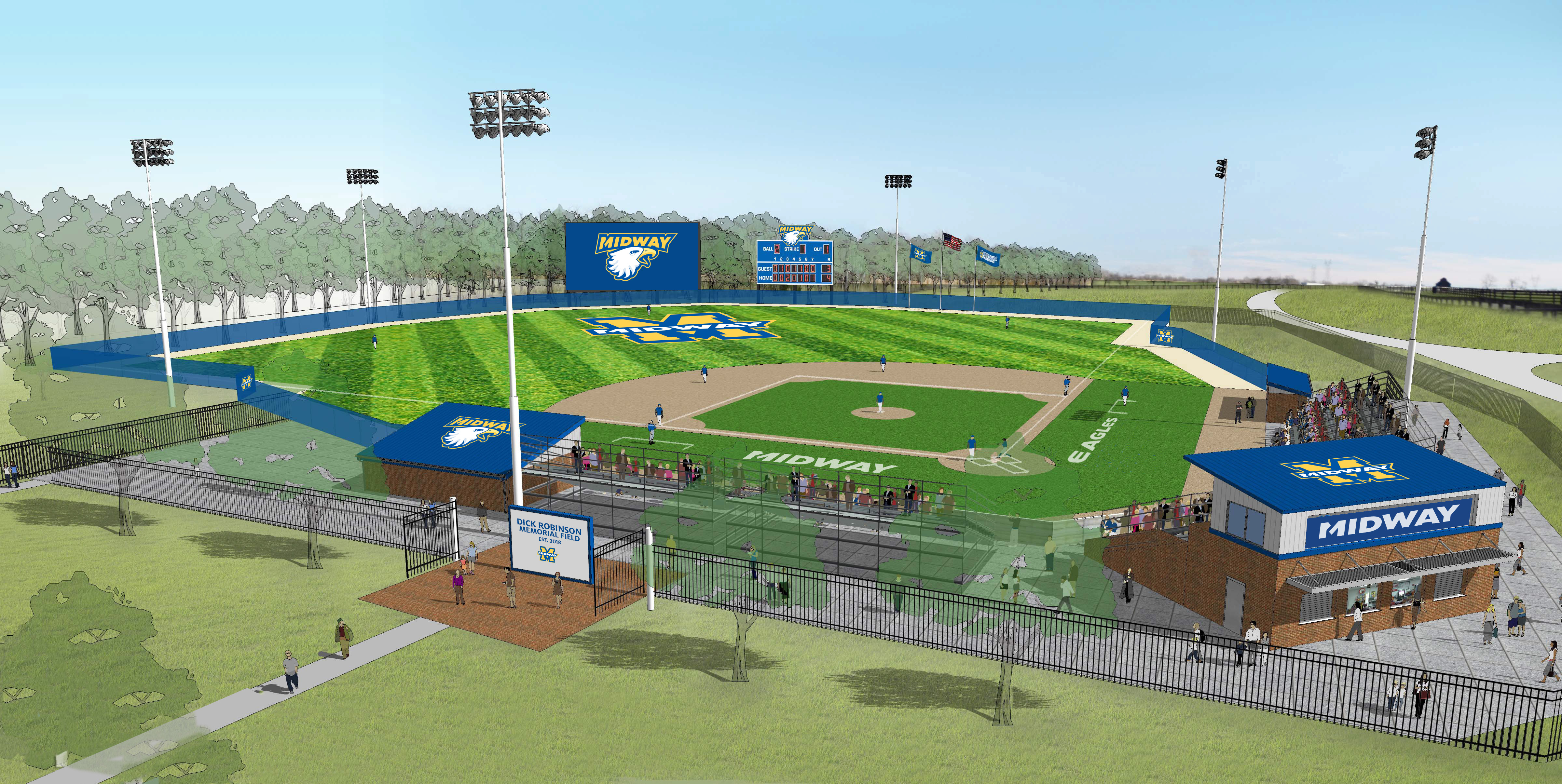Midway Baseball Park Campaign