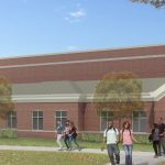 capital campaign artist rendering of recreation center student center expansion
