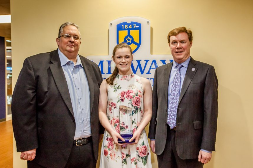 Hieneman Named Midway University/KHSAA Female Student-Athlete of the Year for 2017-18