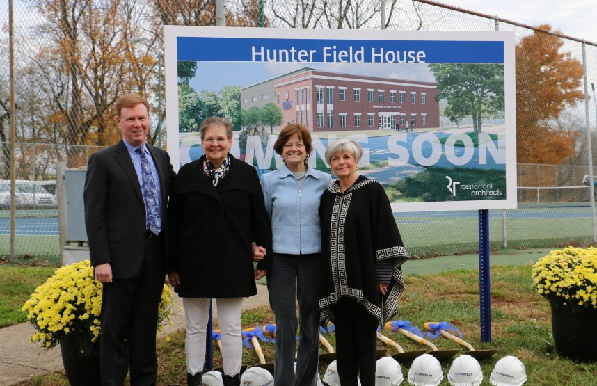 Groundbreaking Ceremony Held for Hunter Field House