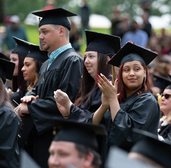 Graduates and Their Families Celebrate Achievements at Commencement Day