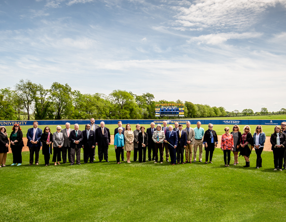 Midway University Holds Official Dedication for Tracy Farmer-Don Ball Stadium and Dick Robinson Field