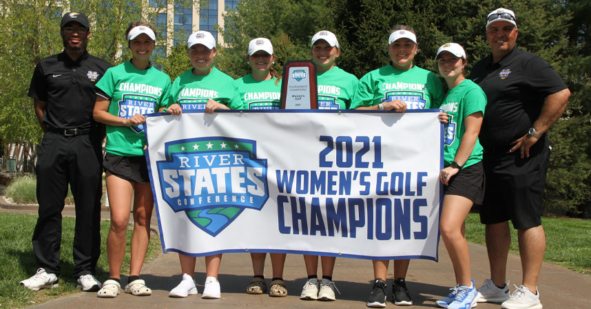 Midway University Men's and Women's Golf Teams Both Win Conference Titles; Advance to Nationals